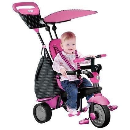 Велосипед Smart Trike 4в1 Glow Pink (от 10 месяцев до 3х лет)