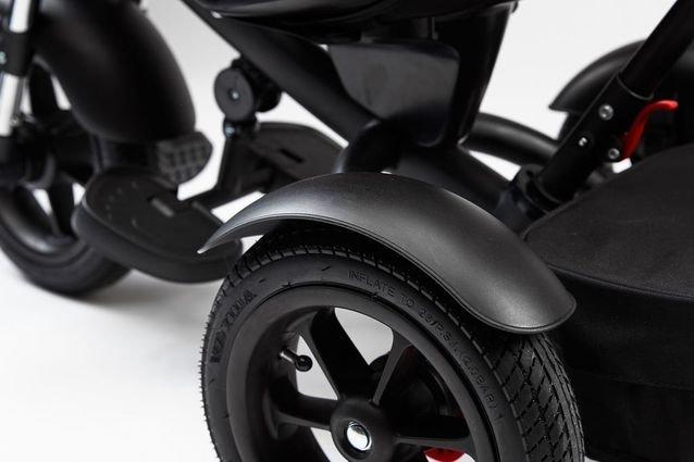 Велосипед CHOPPER TRIKE черный (фара со светом и звуком, трансформер)