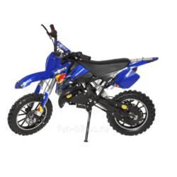 Мини кросс бензиновый MOTAX 50 cc синий (бензиновый, до 50 кг, до 45 км/ч, вариатор, томоза дисковые механические)