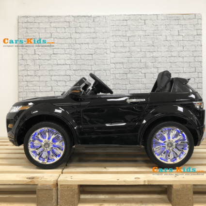 Электромобиль Range Rover Luxury SX118-S MP4 черный (сенсорный дисплей, резина, кожа, пульт, музыка)
